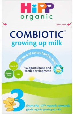 Hipp Organic Combiotic Growing up Milk (Stage 3) - 600g(600 g, 6+ Months) at flipkart
