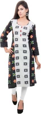 SAHORA Women Printed Straight Kurta(Red, White, Green, Black, Yellow)