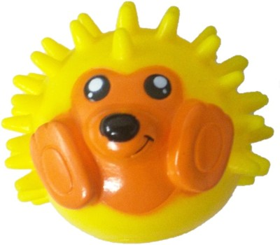 Goofy Tails Super Sqeeze Hedgehog Spike Ball Melamine Squeaky Toy For Dog