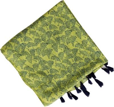 Indha Craft Self Design Yellow Colour Hand Block Printed Voile ( Cotton) Women Stole Flipkart