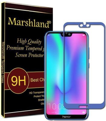 Marshland Tempered Glass Guard for Honor 9N/9i, 6D Full Glue, Screen Protector High Quality, Blue(Pack of 1)