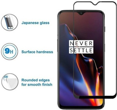 MOBTEMPER Edge To Edge Tempered Glass for OnePlus 6T(Pack of 1)
