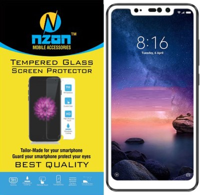Express Buy Edge To Edge Tempered Glass for Redmi Note 5 Pro (5D Full Glue tempered Glass) White(Pack of 1)