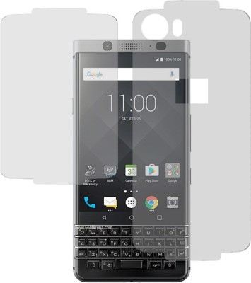 Marshland Front and Back Screen Guard for Blackberry Keyone(Pack of 1)