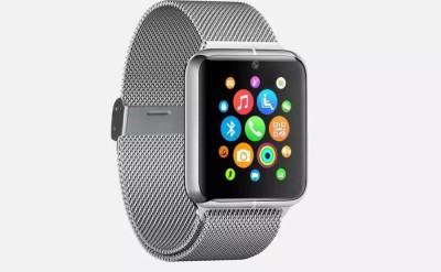 SYL Asus Fonepad Smartwatch(Silver Strap, Free Size)
