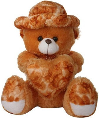 GIFTERIA 3 Feet Soft Brown CAP Teddy Bear W/Dil Very Beautiful Best Quality For Valentine Gift FOR GIRLFRIEND  - 89 cm(Brown)
