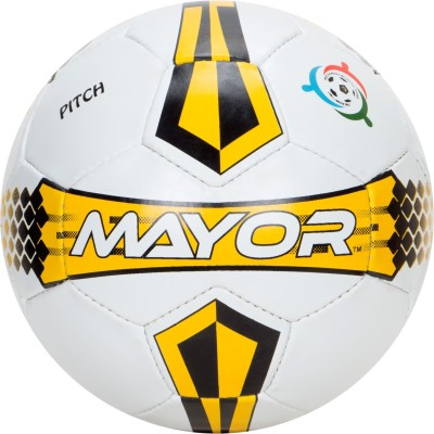 Mayor Pitch Football   Size: 5 Pack of 1, Multicolor Mayor Footballs