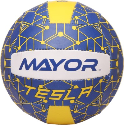 MAYOR Tesla Volleyball   Size: 4 Pack of 1, Blue MAYOR Volleyballs