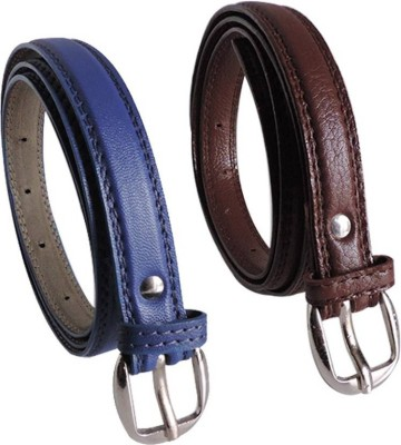 Sulit Women Casual, Party Brown, Blue Artificial Leather Belt