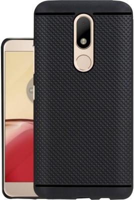 Jkobi Back Cover for Motorola Moto M(Black, Rubber)