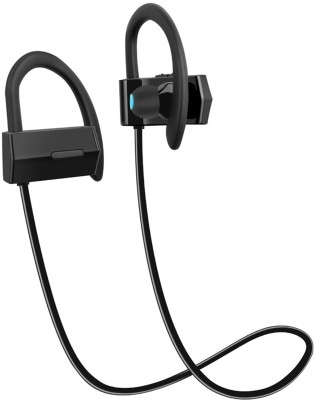 IDAD BH-05 HiFi Sound Waterproof Wireless Bluetooth Earphones (Black) Bluetooth Headset with Mic(Black, In the Ear)