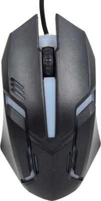 DDice Lighting USB Wired Optical Mouse(USB 2.0, Black)