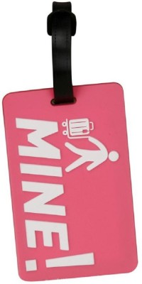 PickNGrab MINE PINK TAG 2 PIECES Luggage Tag(Multicolor)