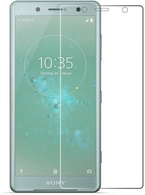 Marshland Edge To Edge Tempered Glass for Sony Xperia XZ2, 9H Anti Scratch, 3D Full Screen Protector(Pack of 1)