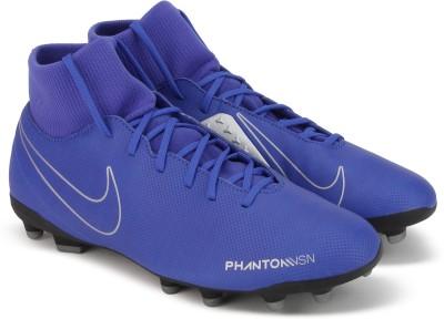 Nike PHANTOM VSN CLUB DF FG/MG Football Shoe For Men(Blue) 1