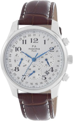 MAXIMA 00802LMGS Analog Watch - For Men