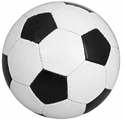 skyward Synthetic Leather Solid Quality Football   Size: 5 Pack of 1, White, Black skyward Footballs
