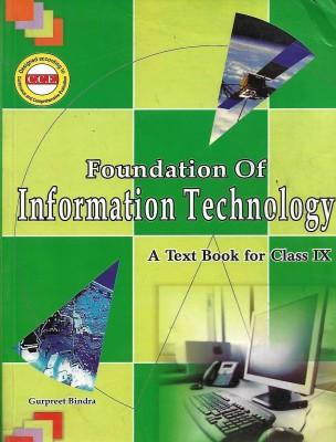 Foundation Of Information Technology Class Ix Book By Sumita Arora