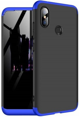 Trimanav Front & Back Case for Mi Redmi Note 6 Pro, 100 % Original 360 Degree case, ( 3D Blue, Polycarbonate,Slim Fit )(Blue, Shock Proof) at flipkart