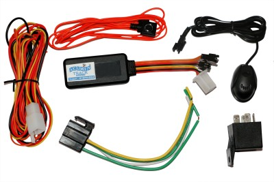 Acumen Track UC 600(SOS, Panic Button & Microphone) GPS Tracker for Car Bike Suv & Truck with Inbuilt Battery Engine Cut Off GPS Device(30 Maps, Black)