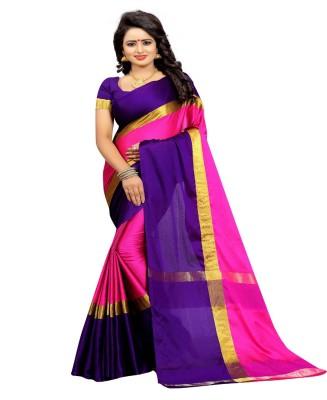 HITESH ENTERPRISE Self Design Fashion Art Silk Saree(Blue)