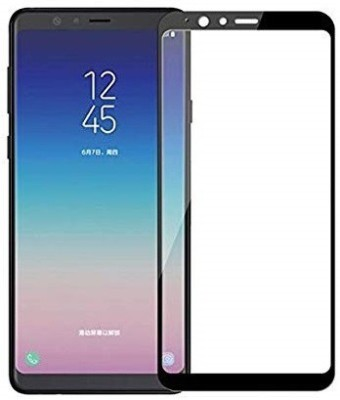 Magic Edge To Edge Tempered Glass for samsung a8 star(Pack of 1)