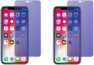 HRV Tempered Glass Guard for Apple iPhone XS [ PACK OF 2 ] Premium Quality Anti-Blue Ray Light Screen Guard [ Blocks Excess Harmful Blue Light] [Eyes Protector Tempered Glass] [Reduce Eye Fatigue and Eye Strain](Pack of 2)