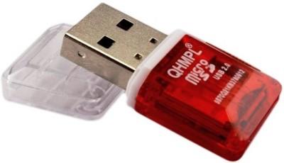 QHMPL CARD REDEAR QH5070 Card Reader Red QHMPL Computer Components