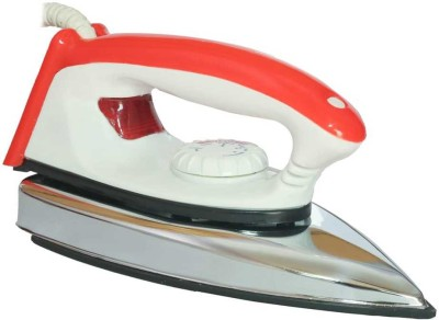 v+ ELECTRIC DRY IRON 750 W Dry Iron(SILVER AND RED)