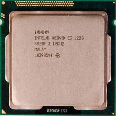 Intel 3.1 LGA 1155 E3 1220 Processor(Grey) at flipkart