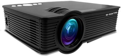 Egate EG i9 MIRACAST LED HD PROJECTOR Portable Projector(Black)
