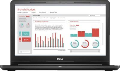 Dell Vostro 15 3000 Series Core i3 7th Gen - (4 GB/1 TB HDD/Windows 10 Home) 3568 Laptop(15.6 inch, Black, 2.18 kg)