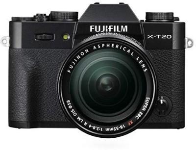 Fujifilm X-T20 with XF 18-55 mm F2.8-4.0 R LM OIS Lens Mirrorless Camera Kit(Black)