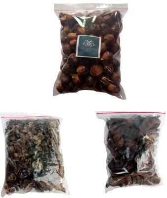 THEEARTHENSHOP Reetha, Amla, Shikakai (Raw Herb) Natural Form Combo Pack FOR HAIR (1800 Grams)(600 Gm Each)(1800 g)