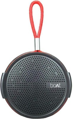 Boat Rugby Wireless Portable Stereo Speaker (Black)