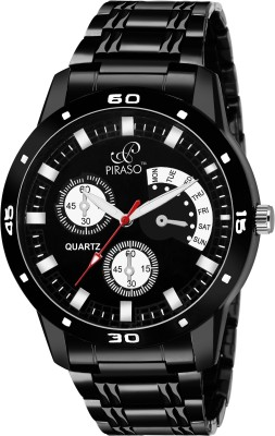 PIRASO 32-BK-CK Analogue Display with Exclusive Design Analog Watch - For Men