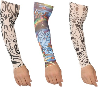 Alpha Man AM_TS_3CMB6 Nylon Arm Warmer(Multicolor)