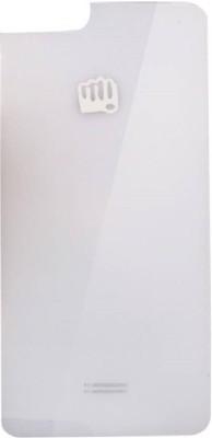Ace King Micromax Canvas Mega 4G Q417 Back Panel(White)