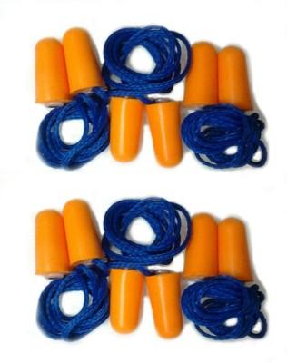 Zahuu Earplugs Soft Foam Corded 32db Noise Reduction Ear Plug(Orange)