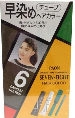 Schwarzkopf Paon Seven Eight No 6 (Darkest Brown) Hair Color(Brown)