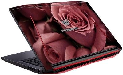 GADGETS WRAP Printed pink rose Skin Vinyl Laptop Decal 15.6