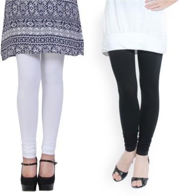 FINAL CHOICE Churidar  Legging(White, Solid)
