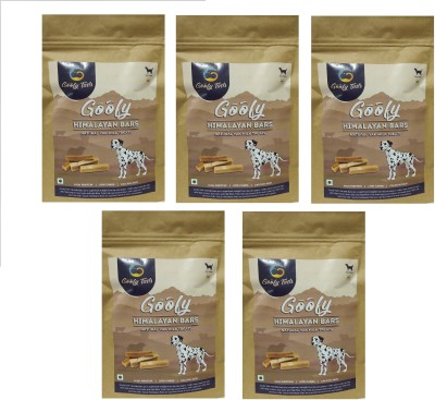 Goofy Tails Himalayan Natural Yak Milk Bars 100% Veg Medium Milk Dog Treat(150 g, Pack of 5)