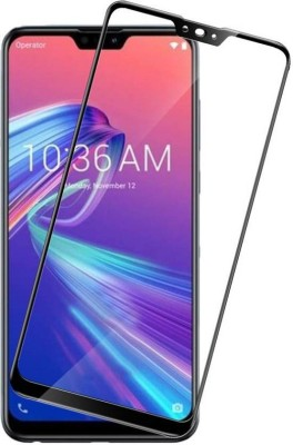 Trimanav Edge To Edge Tempered Glass for Asus Zenfone Max Pro M2(Pack of 1)