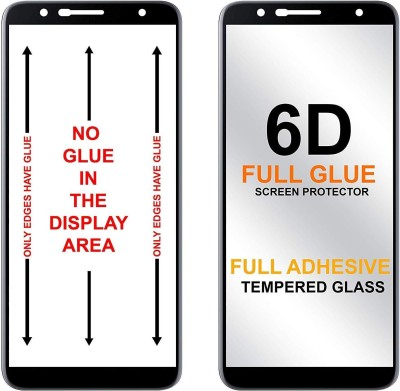 9H Edge To Edge Tempered Glass for AsusZenfone Max Pro M1 (6D Full Glue Tempered Glass)(9H Tempered Glass)(Pack of 1)