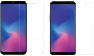 HRV Tempered Glass Guard for HRV Tempered Glass Guard for Samsung Galaxy A9 Star (2018) [PACK OF 2] Premium Quality Flexible Tempered Glass(Pack of 2)
