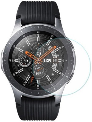 ACUTAS Tempered Glass Guard for Fossil Q Explorist HR (Gen 4) (Transparent) Full Screen Coverage (Except Edges) with easy installation kit(Pack of 1)