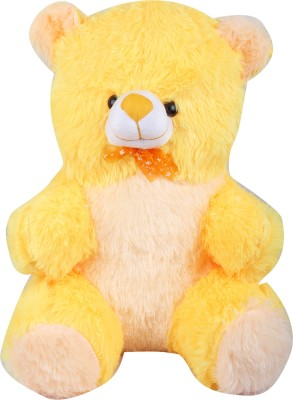 Wrodss Yellow Teddy   25 cm Yellow Wrodss Soft Toys
