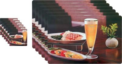 Winner Rectangular Pack of 1 Table Placemat(Multicolor, Plastic) at flipkart