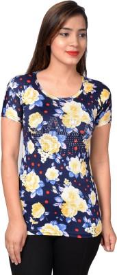 Fashionbazaar4u.com Casual Regular Sleeve Floral Print, Printed, Embellished Women